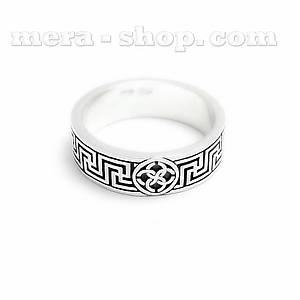 Серебряное кольцо Свадебник Рысич (ширина 5 мм)