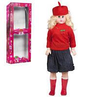 Кукла музыкальная, 75 см (в красном)