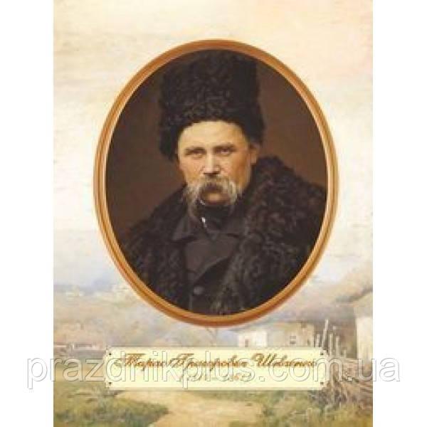 Плакат школьный: Портрет Шевченко Т. Г. (зрелый возраст)