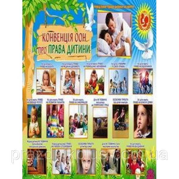 Плакат шкільний: Права дитини