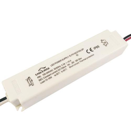 Блок живлення 700мА 18Вт 15-26 вольт ELP018C0700LSP драйвер для світлодіодів IP20 4176