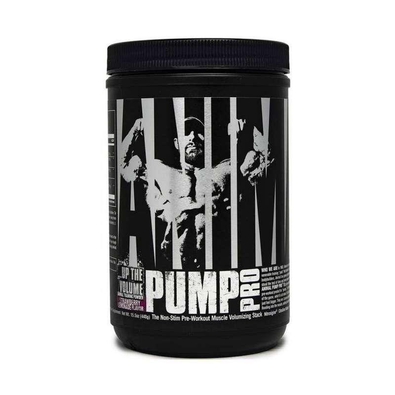 Предтрен ANIMAL PUMP POWDER PRO 440 грамм  Вкус: Strawberry Lemonade
