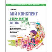 Мой конспект: Весна 4-й год жизни (к программе Українське дошкілля)
