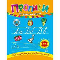 Каллиграфия для первоклассников. Прописи по русскому языку