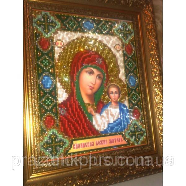 Набор для картины (алмазная техника) КАЗАНСКАЯ ПРЕСВЯТАЯ БОГОРОДИЦА