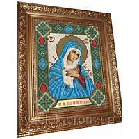 Набор для картины (алмазная техника) ОБРАЗ ПРЕСВЯТОЙ БОГОРОДИЦЫ СЕМИСТРЕЛЬНАЯ