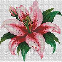 Набір алмазної вишивки Рожева лілія