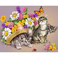 Набор алмазной вышивки Игривые котята