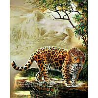 Набор алмазной вышивки Леопард