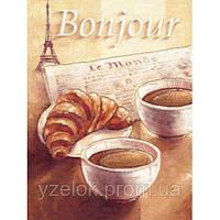 """Набор алмазной вышивки  """"Bonjour"""""""
