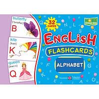 Комплект карточек. English: flashcards. Alphabet