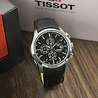 Часы Тиссот / Tissot T-Classic Couturier Automatic Black-Silver (ААА класс)