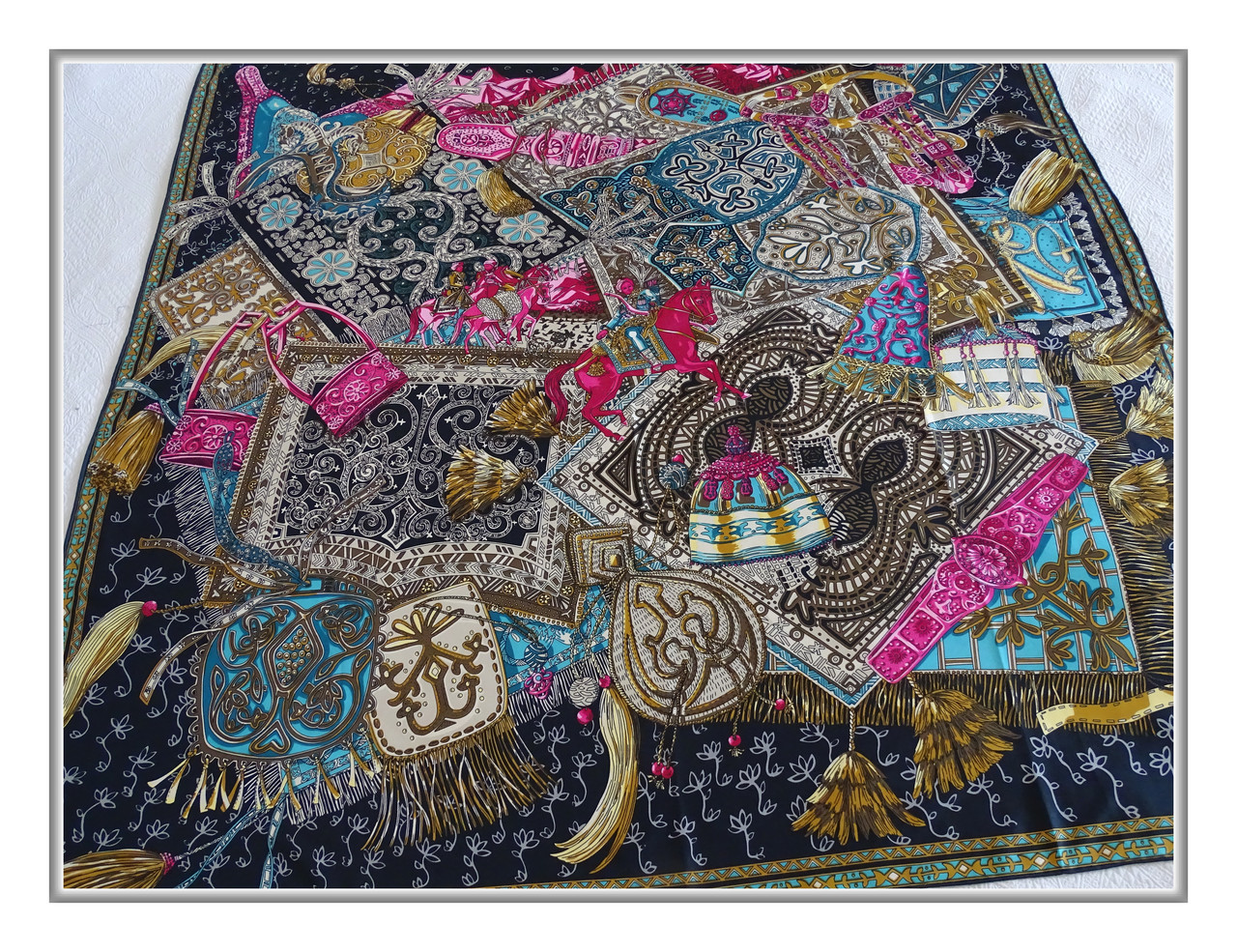 Платок Hermes шёлк