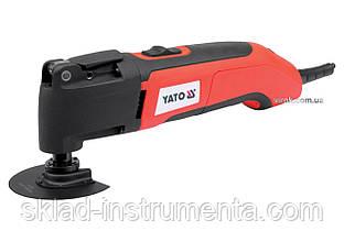 Багатофункційний інструмент YATO 300 Вт 22000 об/хв + насадки + кейс