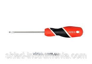 Викрутка з плоским шліцом YATO; l= 100 мм, шліц - 3 мм