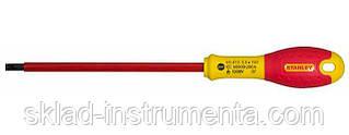 "Викрутка діелектрична плоска STENLEY ""FatMax VDE 1000V"" SL3.5 x 75 мм"