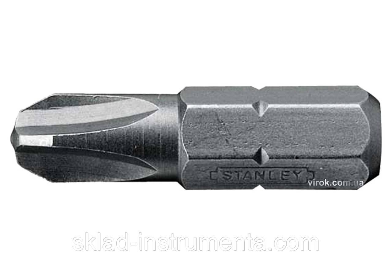 """Насадка викруткова STANLEY 1/4"""" хрестова PH2 х 50 мм 10 шт"""