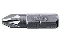 """Насадка викруткова STANLEY 1/4"""" хрестова PZ1 х 25 мм 25 шт"""