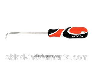 Вістря з загнутим кінцем YATO 125 мм