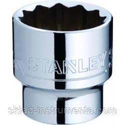 "Головка торцеві дванадцятигранна STANLEY 3/8"" М16 мм"