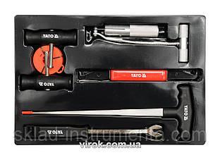 Набір для демонтажу автомобільного скла YATO 7 шт