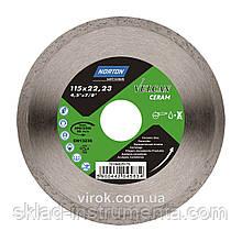 Диск алмазний VULCAN TILE по керамічній плитці Ø=115x22.23 мм