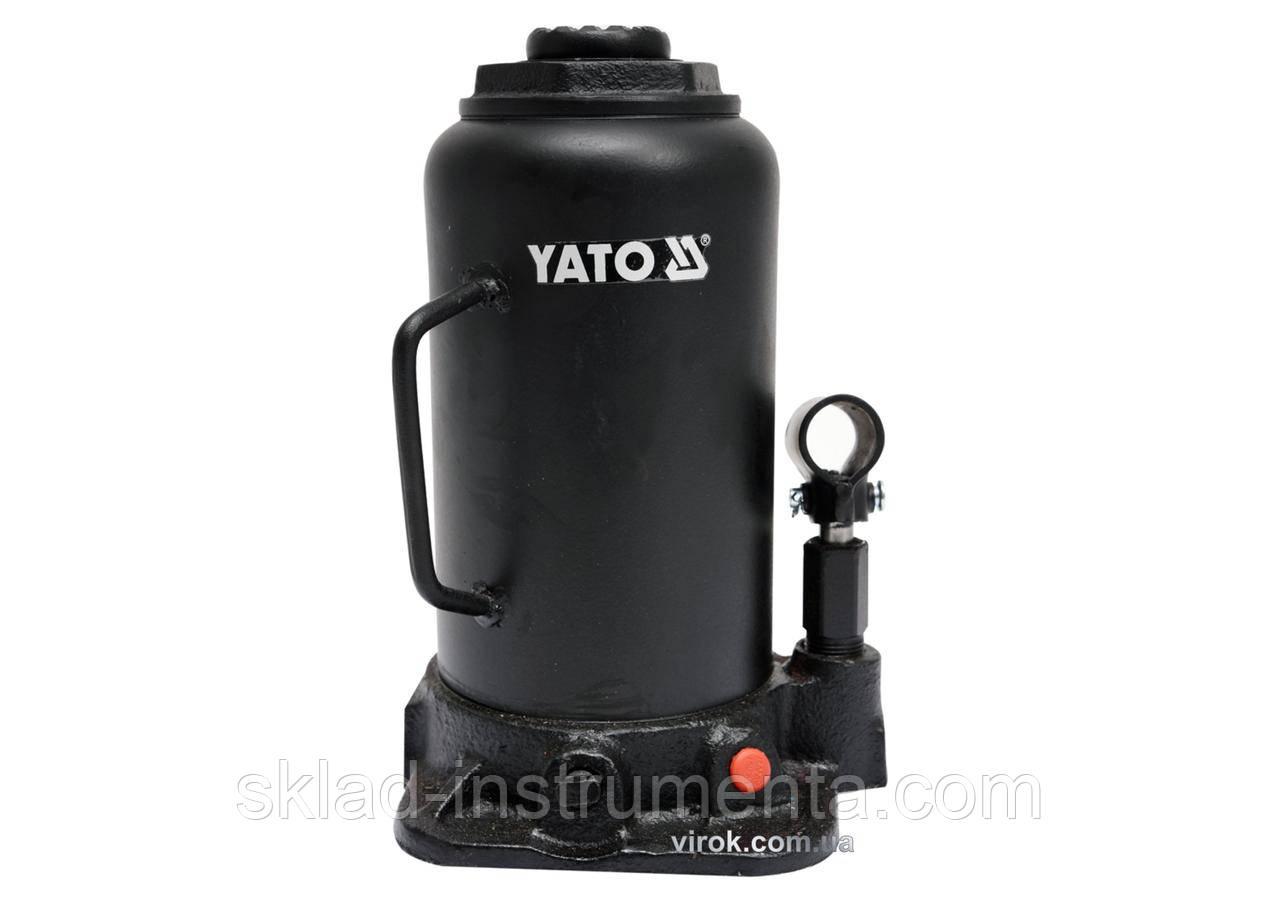 Домкрат гідравлічний стовбцевий YATO 20 т 242-452 мм