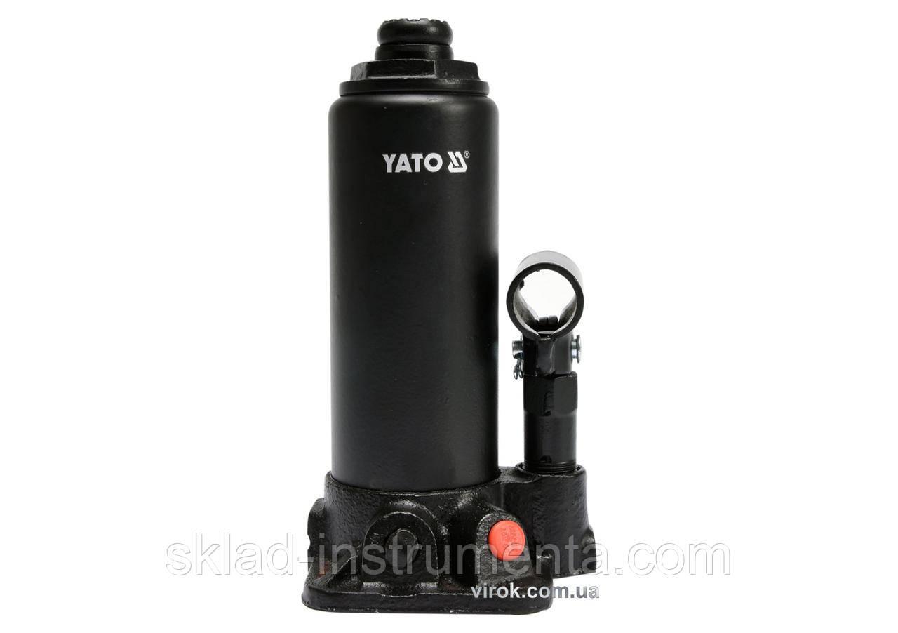 Домкрат гідравлічний стовбцевий YATO 3 т 194-374 мм