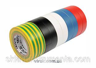 Набір стрічок ізоляційних YATO 19 мм х 20 м 10 шт