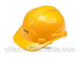 Каска для захисту голови VOREL жовта