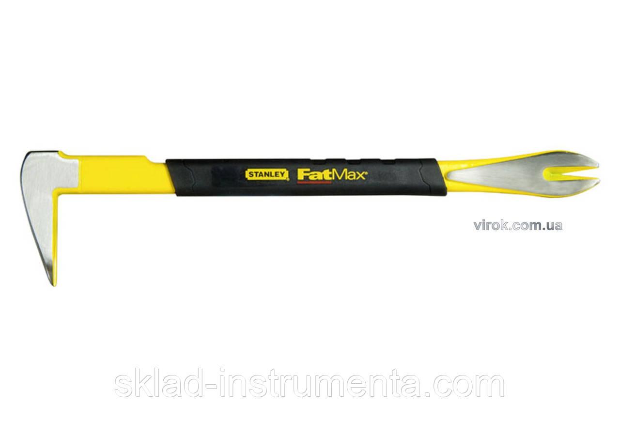 """Лом-цвяходер кований STANLEY """"FatMax Claw Bar"""" 300 мм"""
