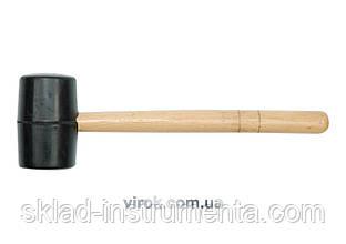 Молоток гумовий VOREL з дерев'яною ручкою 70 мм 720 г