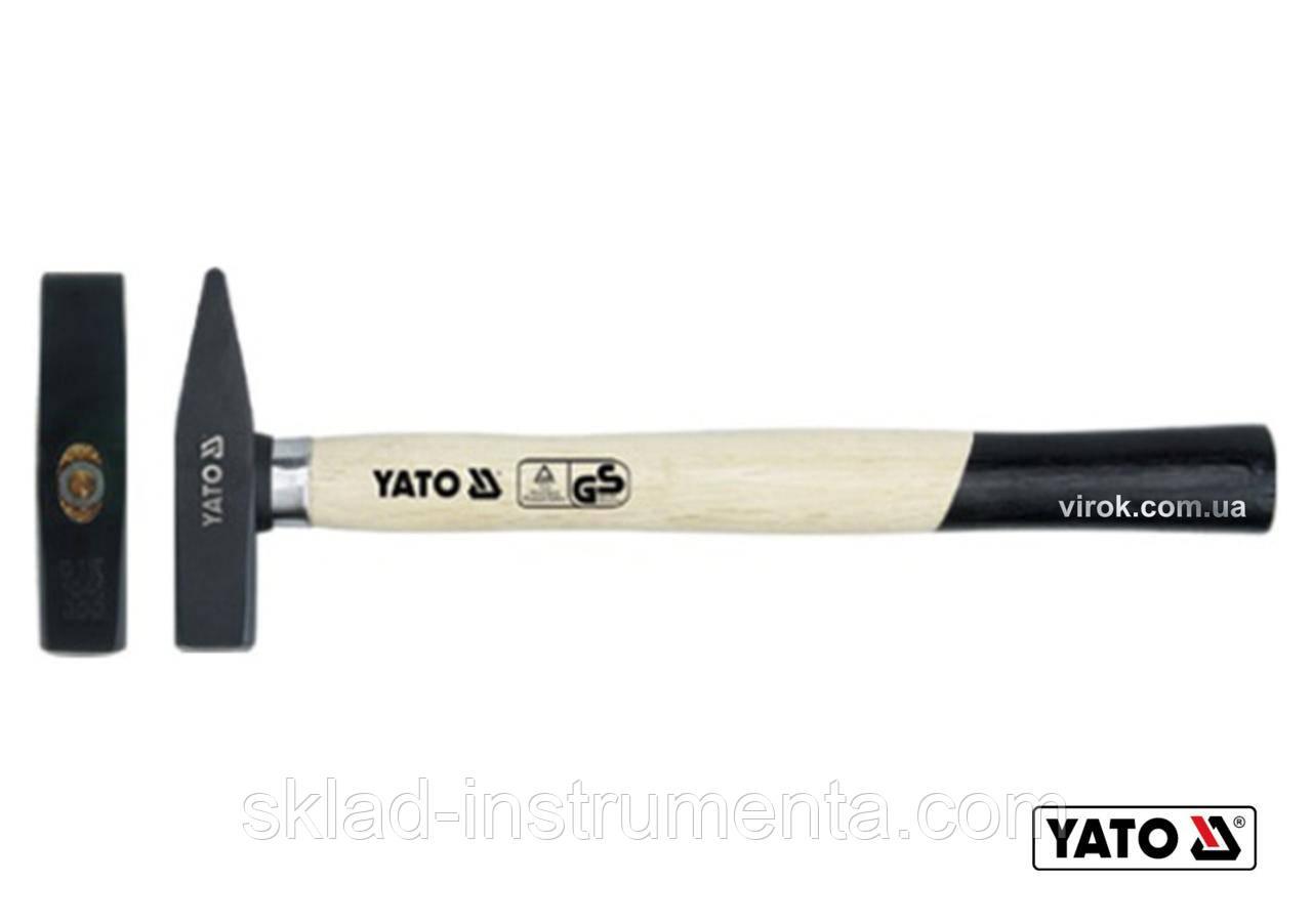 Молоток слюсарний YATO DIN 1041 400 г 310 мм