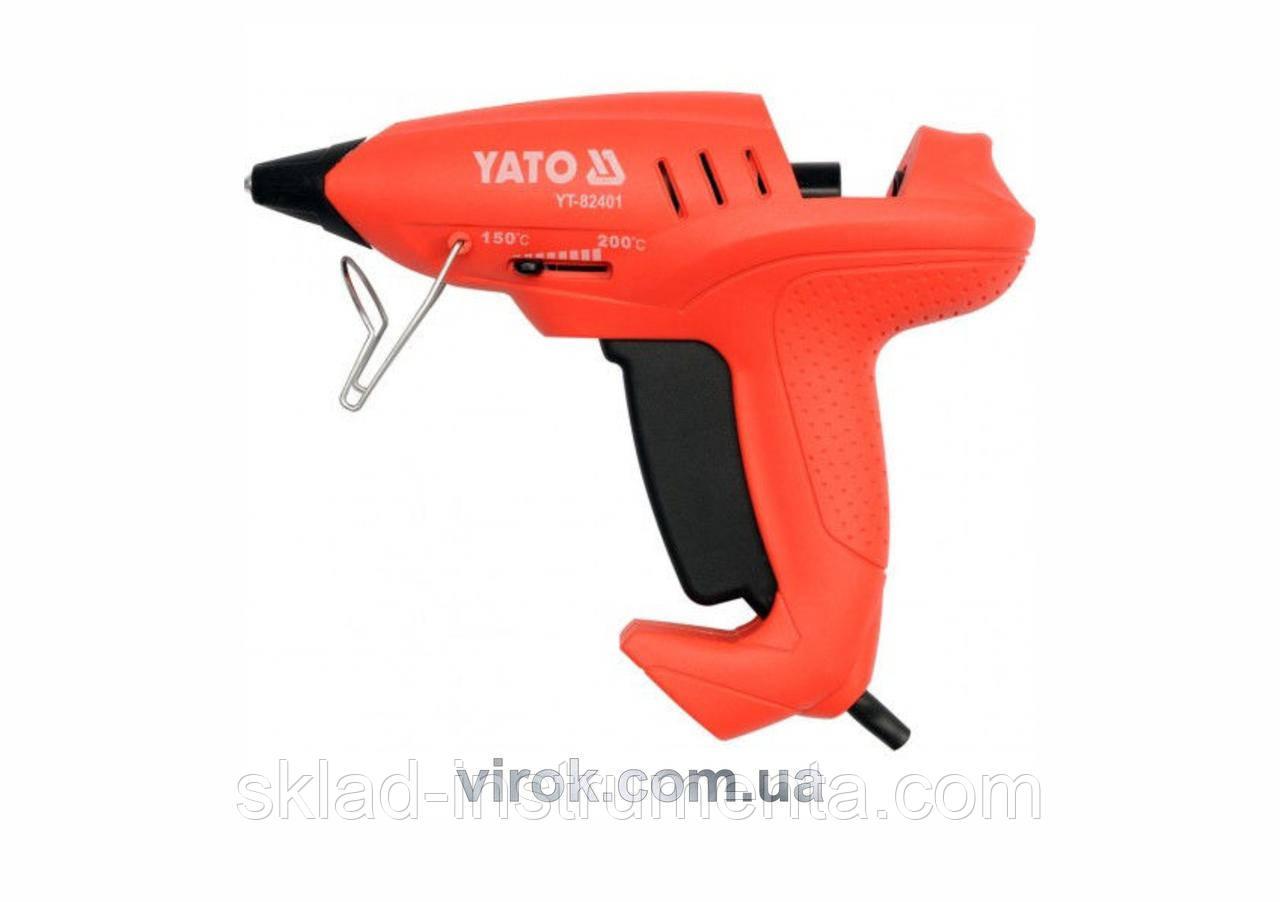 Пістолет клейовий YATO 35 (400) Вт для стержнів 11.2 мм