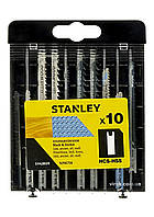 Набір полотен для електролобзика STANLEY 10 шт