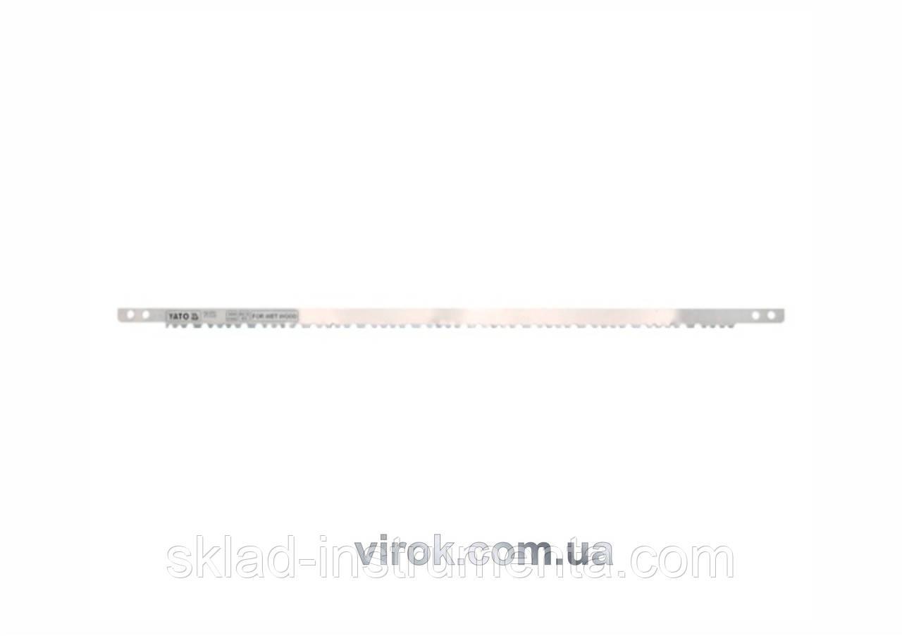 Полотно для лучкової ножівки до сирого дерева HCS 65 YATO l=450 мм
