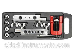 Прес для ручного розширення труб YATO 3-19 мм з аксесуарами 7 шт