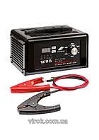 Пуско-зарядний пристрій до акумул-в YATO 12/24 В, ємн. 10-300 Агод;V= 230 В,2/8/15А(12В),7,5 А (24В)