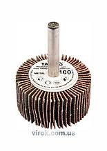 Круг шліфувальний пелюстковий для дрилі YATO 40 х 20 х 6 мм К100