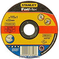 Диск відрізний по металу STANLEY Ø=115х22 мм h=1 мм