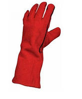 Рукавиці для зварювальних робіт червоні розмір 10