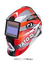 Маска зварювальника YATO захисна з саморегульованим фільтром