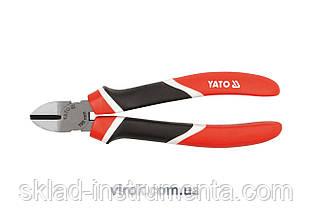 Кусачки бокові YATO CrV l=180 мм