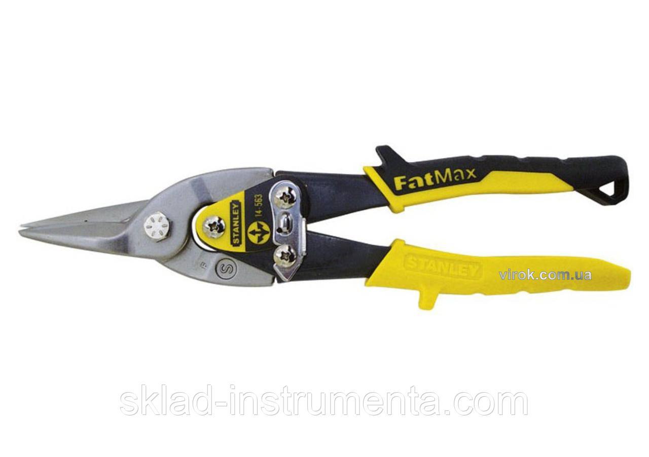 Ножиці по металу STANLEY прямі 250 мм