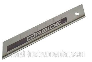 """Лезо з карбід-вольфрамовим напиленням STANLEY """"Carbide"""" 18 мм 5 шт"""