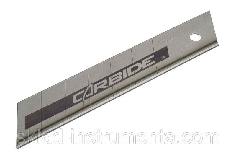 """Лезо з карбід-вольфрамовим напиленням STANLEY """"Carbide"""" 25 мм 5 шт"""