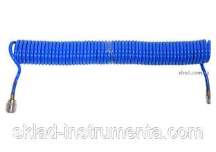 Шланг пневматичний спіральний поліуретановий YATO 5.5 х 8 мм 10 м