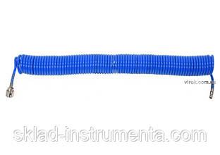 Шланг пневматичний спіральний поліуретановий YATO 5.5 х 8 мм 15 м