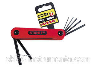 Набір шестигранних ключів STANLEY 7 шт