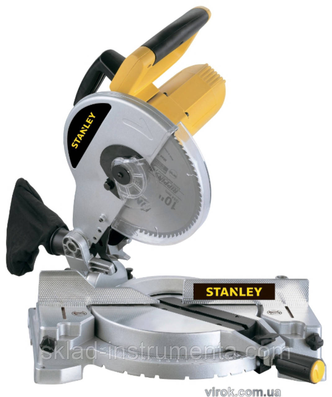 Пила торцеві STANLEY 1500 Вт диск 255 мм